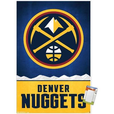 Trends International NBA Denver Nuggets - Logo 18 Unframed Wall Poster Prints