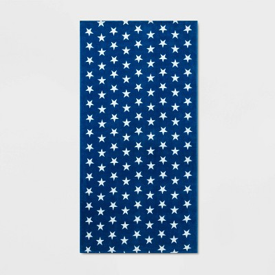 Star Beach Towel Blue - Sun Squad™