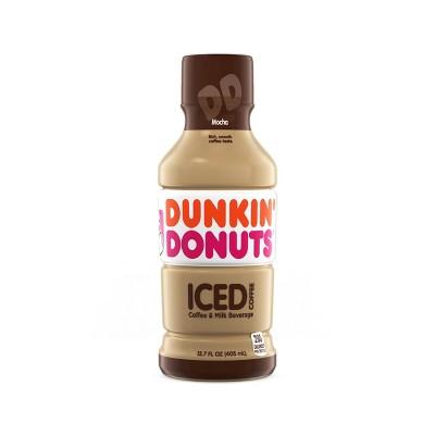 Dunkin Donuts Mocha - 13.7 fl oz Bottle