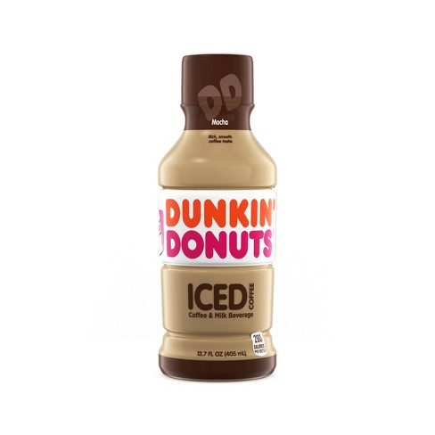 Dunkin Donuts Mocha - 13.7 fl oz Bottle - image 1 of 3