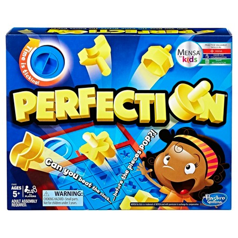 Perfection Board Game - image 1 of 4