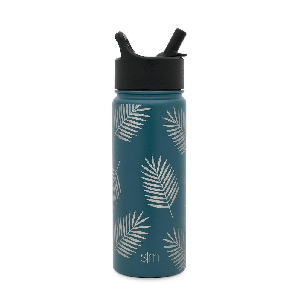 Image of Simple Modern 18oz Summit Water Bottle Riptide Palms
