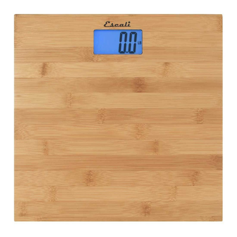 "Image of ""Bamboo Personal Scale 11.75""""x11.75"""" - Escali, Clear"""