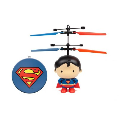 "World Tech Toys DC Superman 3.5"" Flying Character UFO Helicopter"