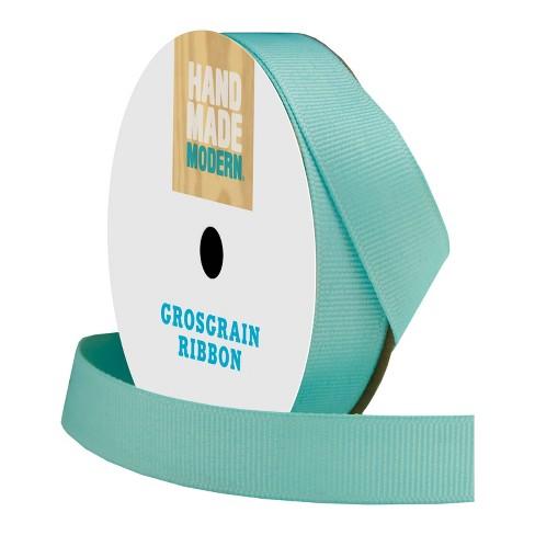 Grosgrain Ribbon 5/8in x 21ft Aqua - Hand Made Modern® - image 1 of 4
