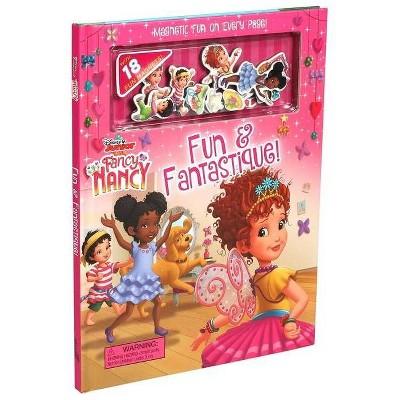 Disney Fancy Nancy Fun & Fantastique! Magnetic Fun -  (Magnetic Hardcover)
