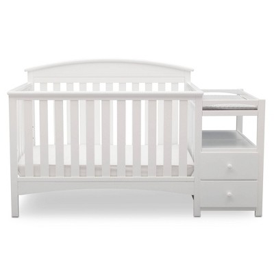 Delta Children Abby Convertible Crib and Changer