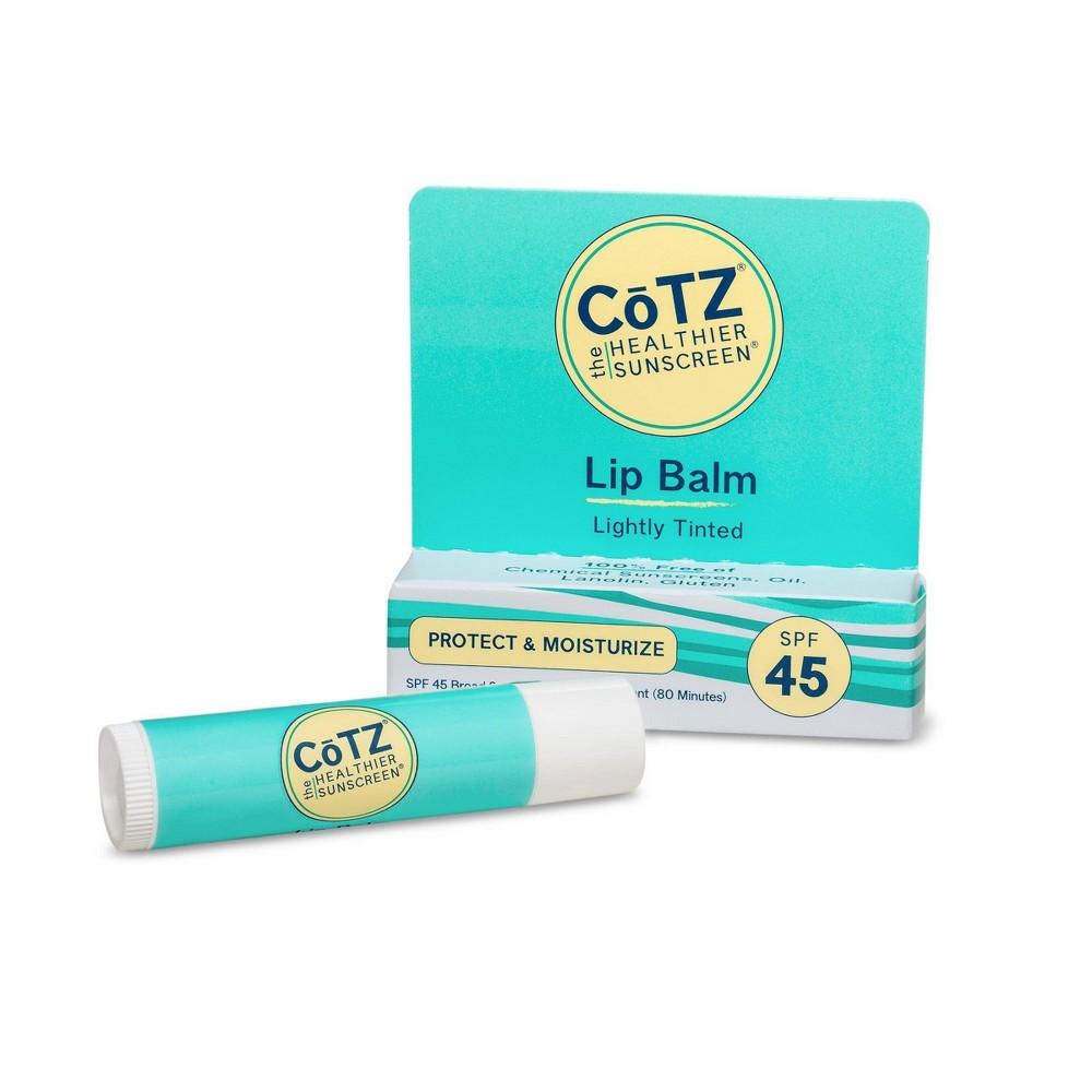 Image of CoTZ UV Protection Sunscreen Lip Balm - SPF 45 - 0.14oz