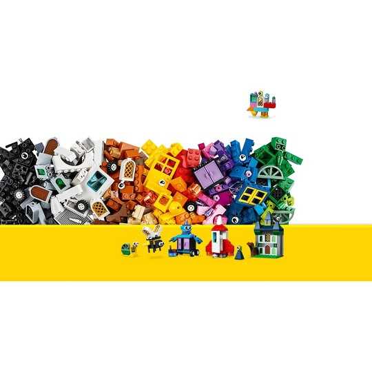 LEGO Classic Windows of Creativity 11004 Building Kit with Toy Doors for Creative Play 450pc image number null