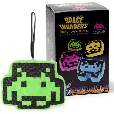 Crowded Coop, LLC Space Invaders Micro Plush Aliens Series 1 | One Random