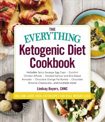 Everything Ketogenic Diet Cookbook (Paperback)(Lindsay Boyers)