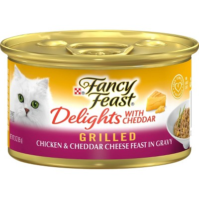 Purina Fancy Feast Grilled Gravy Delights Feast Wet Cat Food Can  - 3oz