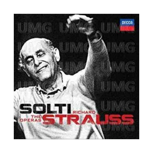 Sir Georg Solti - Solti: Strauss: The Operas (15 CD Box Set) - image 1 of 1