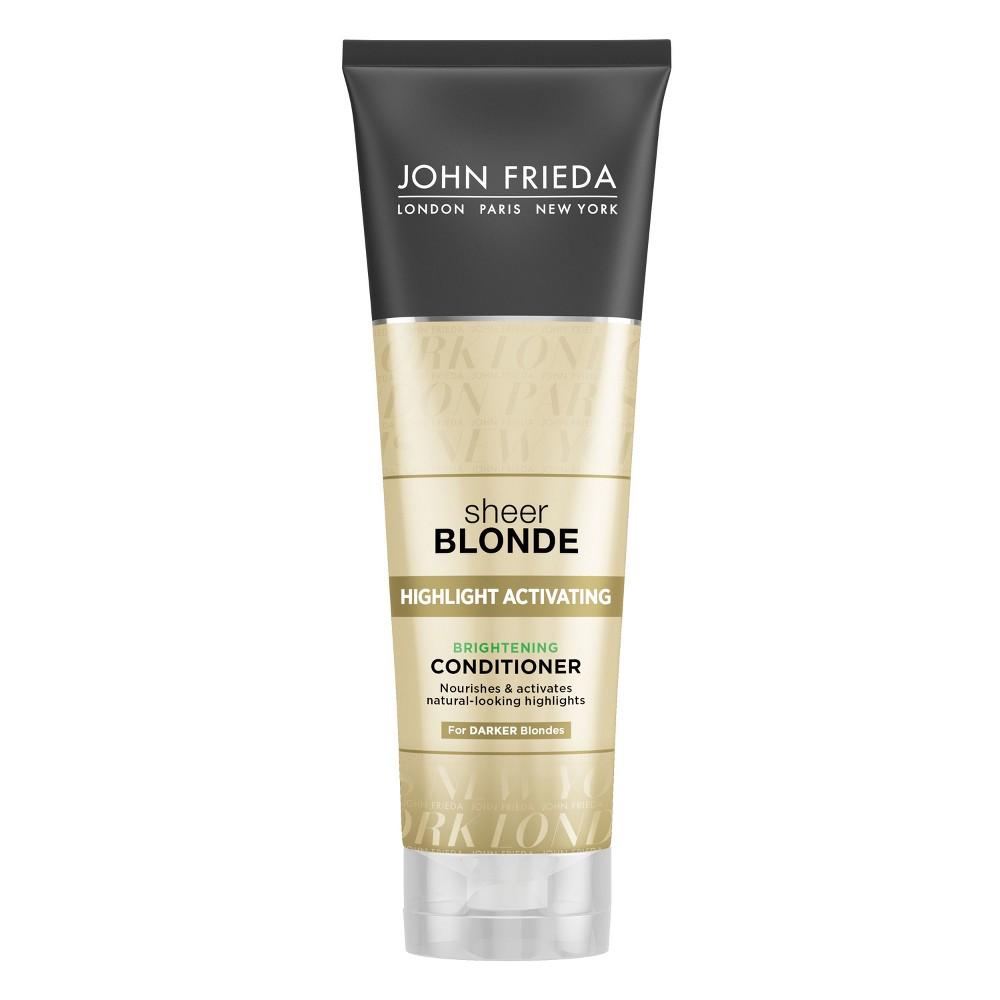 Image of John Frieda Sheer Blonde Highlight Activating Brightening Conditioner - 8.45 fl oz