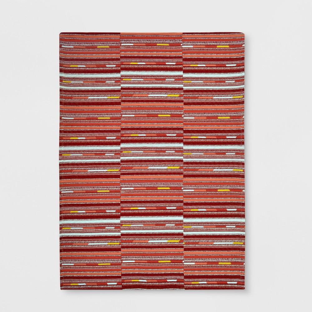5' x 7' Yew Stripe Outdoor Rug Warm - Project 62