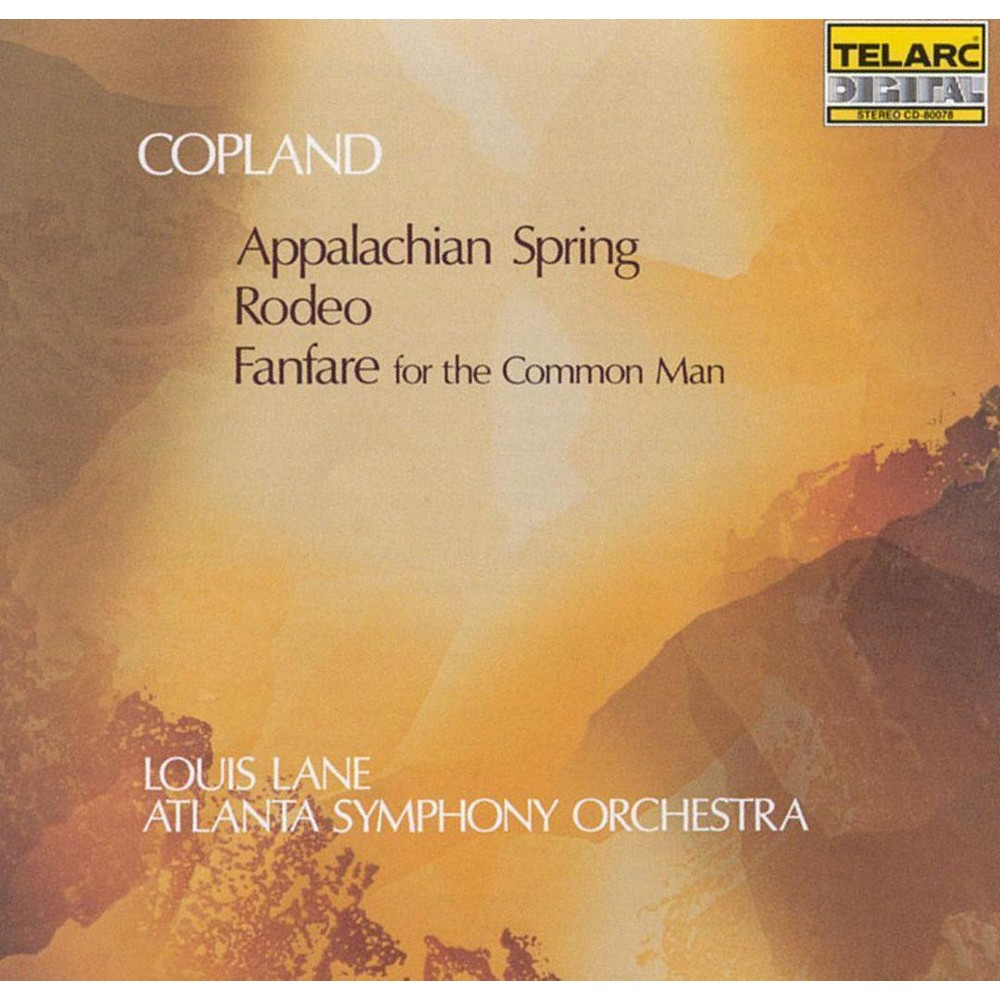 Lane / Aso - Copland:Appalachian/ Rodeo/Fanfare (CD)
