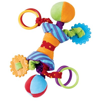 Manhattan Toy Ziggles Rattle and Teether Developmental Toy