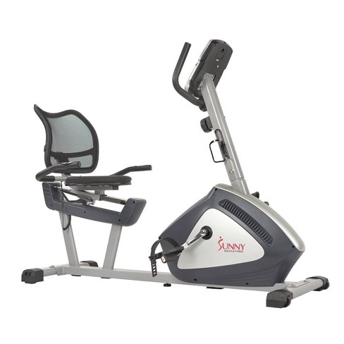 Sunny Health & Fitness Endurance Zone Training Recumbent Bike - image 1 of 4