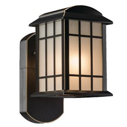 Craftsman Companion Smart Security Outdoor Wall Light Bronze - Maximus