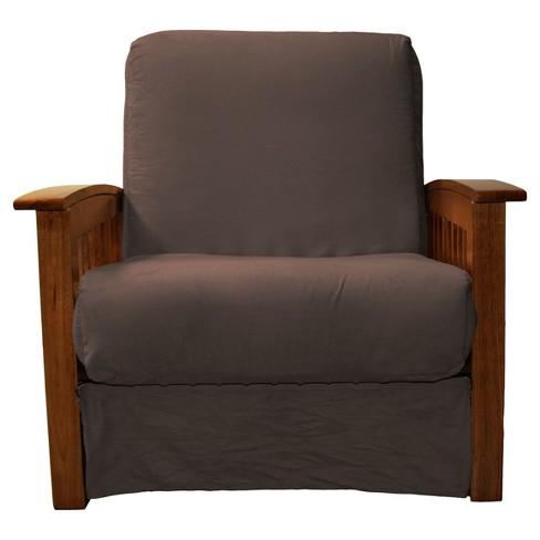 Incredible Craftsman Perfect Futon Sofa Sleeper Walnut Wood Finish Sit N Sleep Gamerscity Chair Design For Home Gamerscityorg