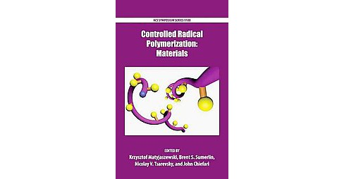 Controlled Radical Polymerization : Materials (Hardcover) - image 1 of 1