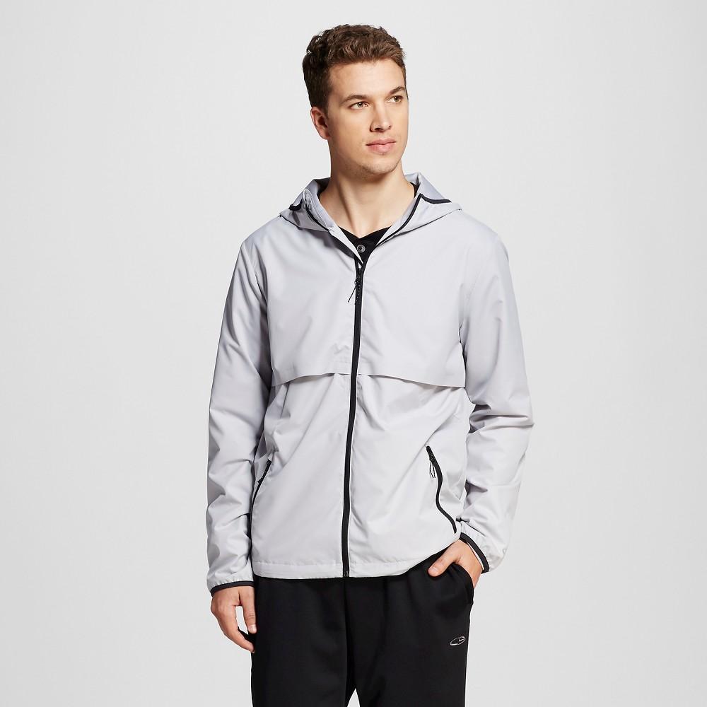 Men's Packable Windbreaker Jacket - C9 Champion Gray Afternoon S