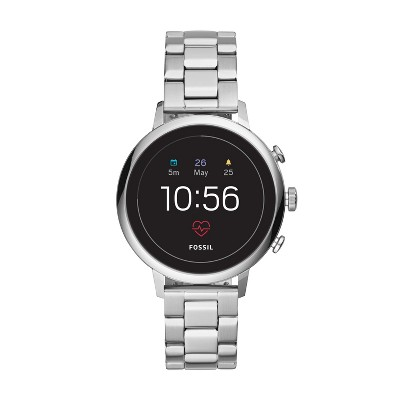 Fossil Gen 4 Smartwatch   Venture Hr 40mm Stainless Steel by Fossil