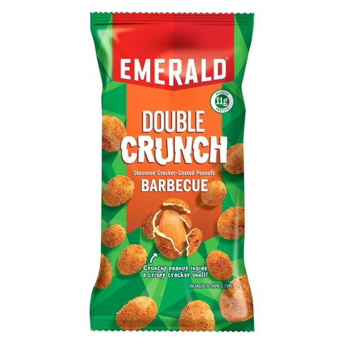 Emerald® Double Crunch Barbecue Seasoned Cracker-Coated Peanuts - 2.5oz - image 1 of 1