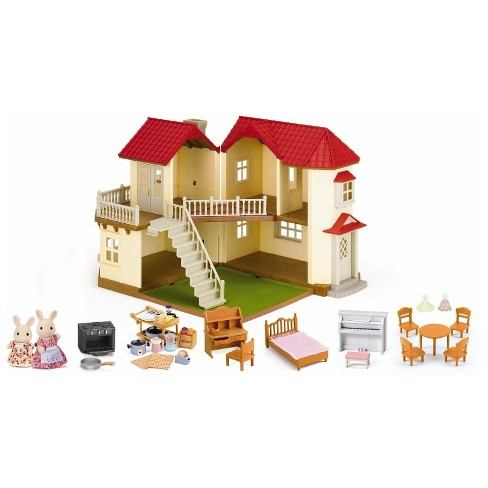 Calico Critters Luxury Townhome Gift Set - image 1 of 3