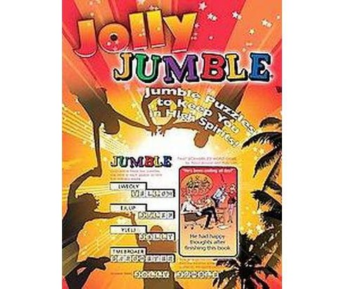 Jolly Jumble : Jumble Puzzles to Keep You in High Spirits! (Paperback) (Henri Arnold & Bob Lee & Mike - image 1 of 1