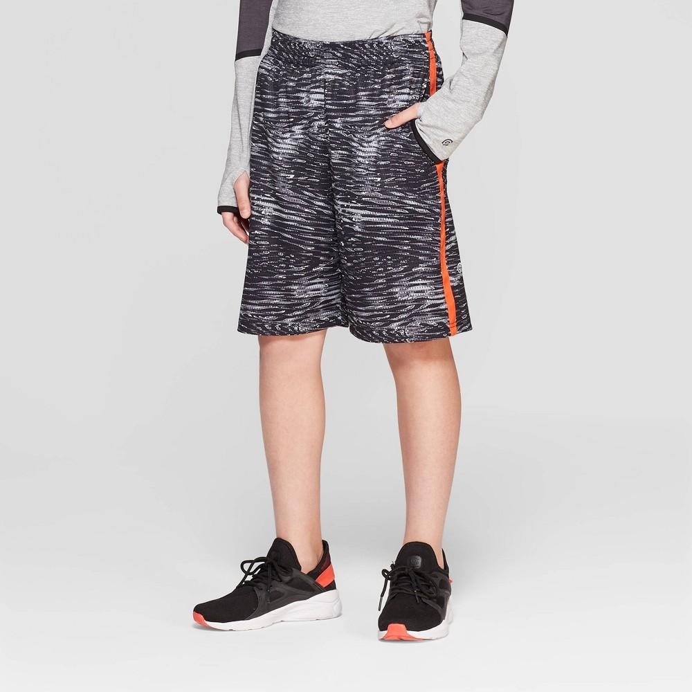 Boys' Printed Lacrosse Shorts - C9 Champion Black XL