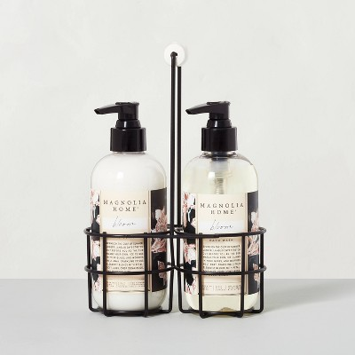 Hand Soap + Lotion Caddy Set Bloom - Magnolia Home by Joanna Gaines