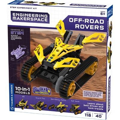Thames & Kosmos Engineering Makerspace: Off-Road Rovers