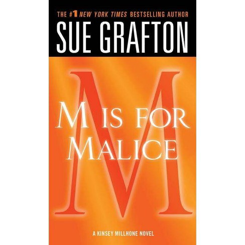 """""""m"""" Is for Malice - (Kinsey Millhone Alphabet Mysteries) by  Sue Grafton (Paperback) - image 1 of 1"""