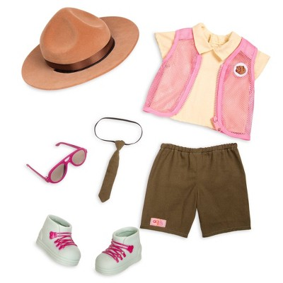 """Our Generation Park Ranger Flair Outfit for 18"""" Dolls"""