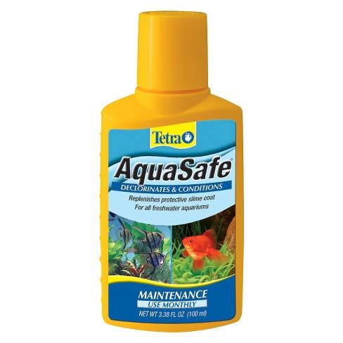 Tetra AquaSafe Monthly Maintenance Declorinates & Conditions 3.38 oz - image 1 of 3