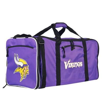 NFL Minnesota Vikings 28  Steal Duffel Bag - Purple