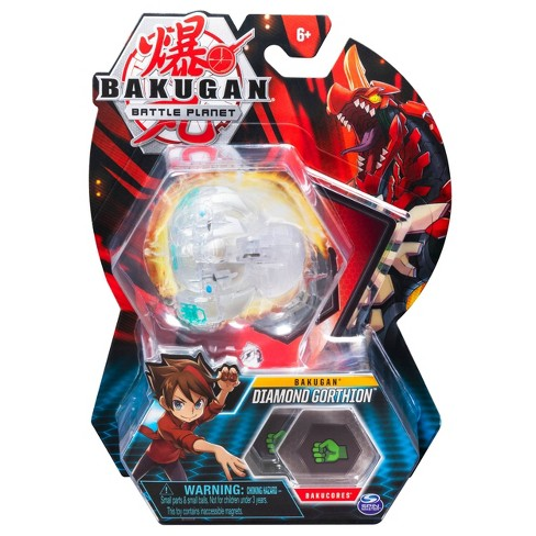 """Bakugan Diamond Gorthion 2"""" Collectible Action Figure and Trading Card - image 1 of 4"""