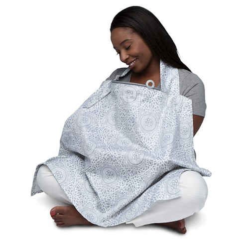 Boppy Boho Nursing Cover - Gray - image 1 of 4