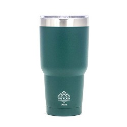 Truflask Double Vacuum Insulated 30 Oz Stainless Steel Travel Tumbler, Green