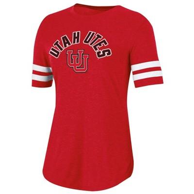 NCAA Utah Utes Women's Short Sleeve Crew Neck T-Shirt