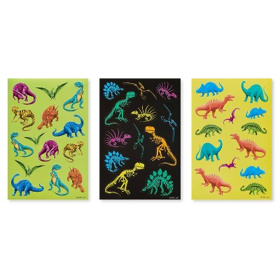 129ct Dinosaur Stickers