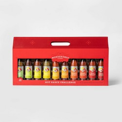 Hot Sauce Bottle Gift Set - 30oz/10pk - Wondershop™