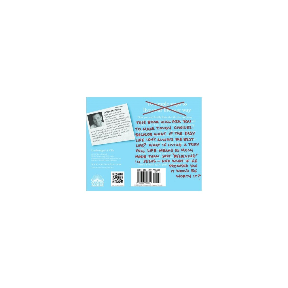 No Easy Jesus : How the Toughest Choices Lead to the Greatest Life (Unabridged) (CD/Spoken Word) (Jason