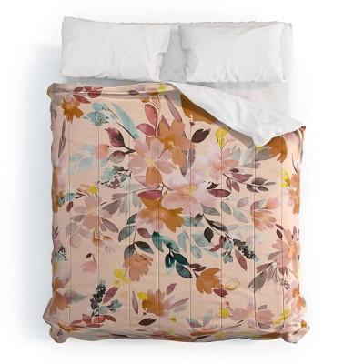Ninola Design Summer Moroccan Floral 100% Cotton Comforter Set - Deny Designs
