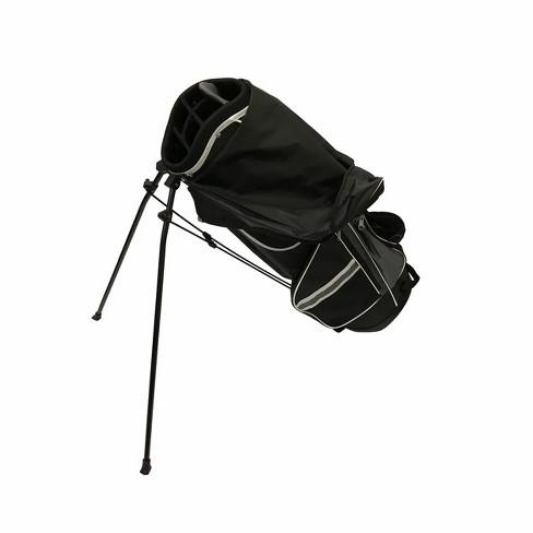 Nitro Golf Light Weight Stand Bag Black Silver
