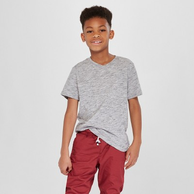 Boys' Short Sleeve Heathered Favorite T-Shirt - Cat & Jack™