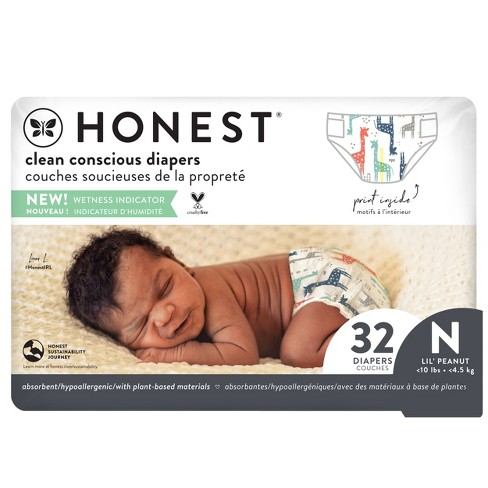 The Honest Company Disposable Diapers - (Select Size and Pattern) - image 1 of 4