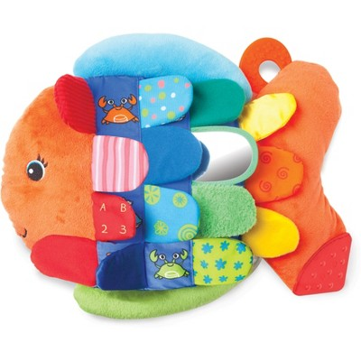 Melissa & Doug® Flip Fish Soft Baby Toy