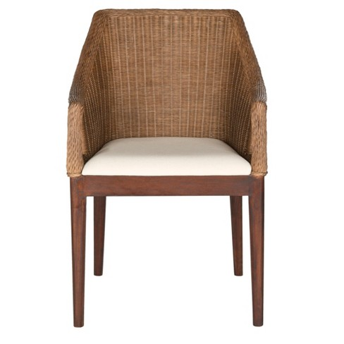 Dining Chair Wood/Brown - Safavieh® - image 1 of 4